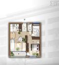 ÓBUDÁN újépítésű, 2 szobás, erkélyes, em