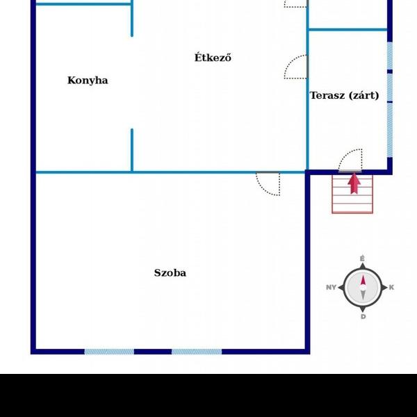 Eladó  családi ház (Zalaegerszeg, Belváros közelében, Páterdomb ) 8,5 M  Ft