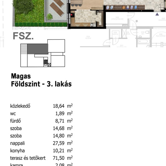 Eladó  tégla lakás (Budapest, XIII. kerület, ) 57,77 M  Ft