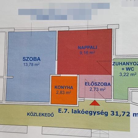 Eladó  téglalakás (Budapest, XIV. kerületBudapest, XIV. kerület) 21,9 M  Ft