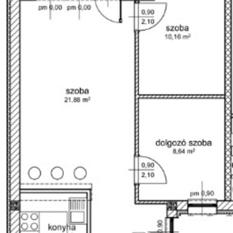 Eladó  téglalakás (Budapest, XIII. kerületBudapest, XIII. kerület) 39,9 M  Ft