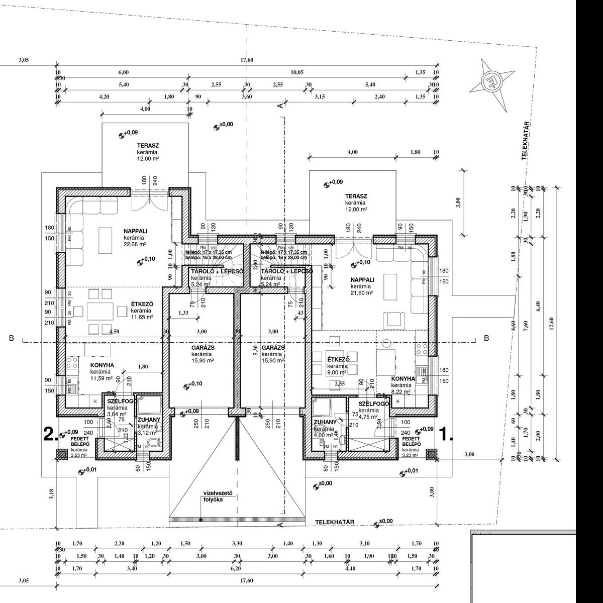 Eladó  ikerház (Budapest, XVIII. kerület, Szemere telep, Beregszász u.) 45,89 M  Ft