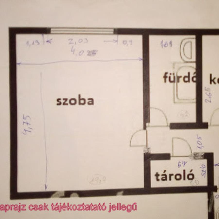 Eladó  téglalakás (Zala megye, Zalaegerszeg) 8,5 M  Ft