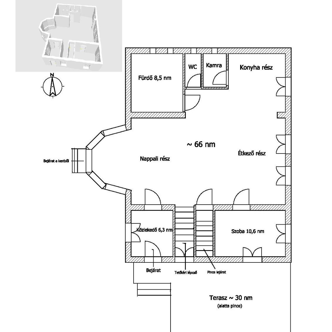 Eladó  családi ház (Jász-Nagykun-Szolnok megye, Mezőtúr, József Attila utca 21.) 24,9 M  Ft