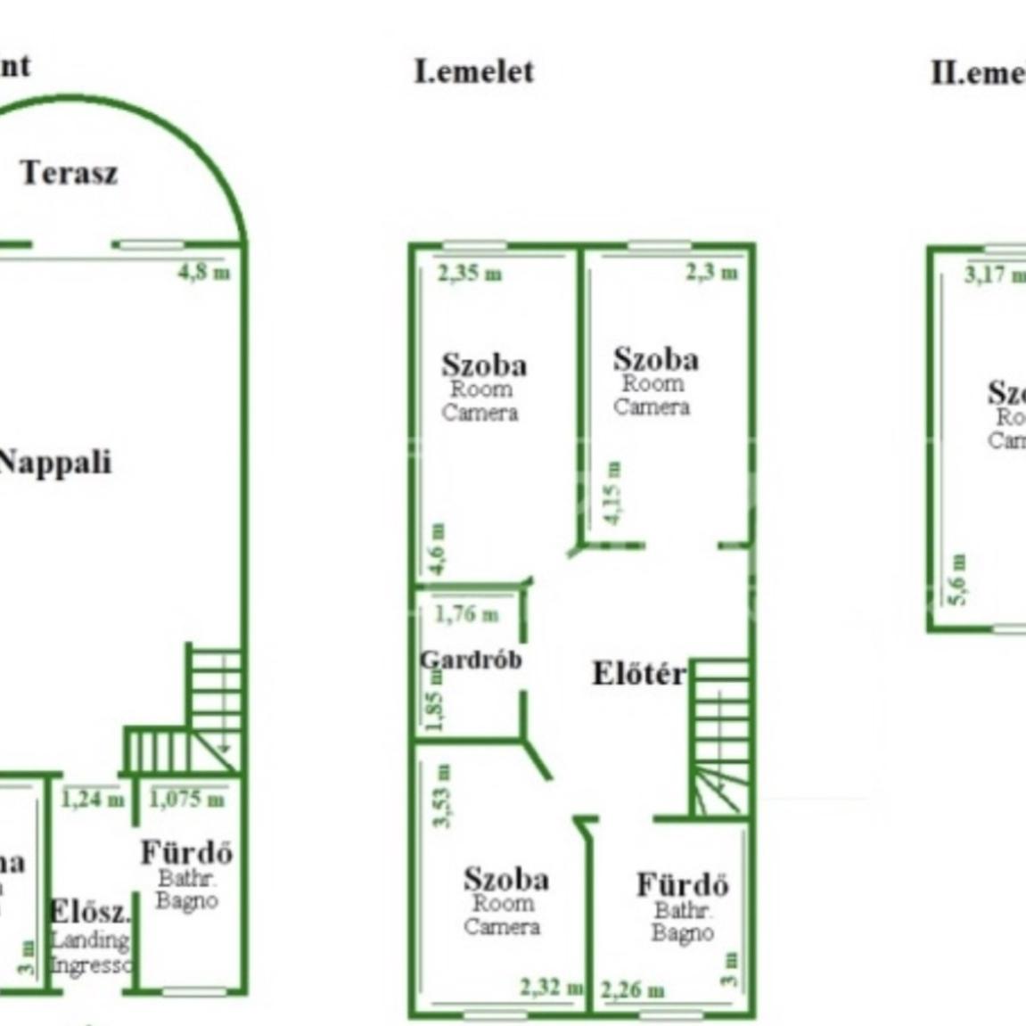 Eladó  sorház (Budapest, X. kerületBudapest, X. kerület, Vadszőlő u.) 31,9 M  Ft