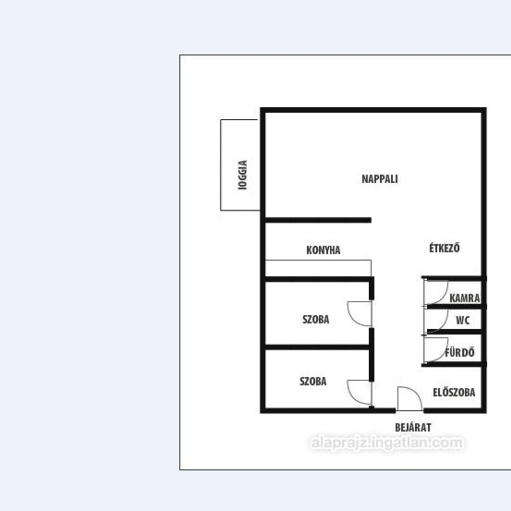 Eladó  panellakás (Szabolcs-Szatmár-Bereg megye, Nyíregyháza, Kert utca) 19,9 M  Ft