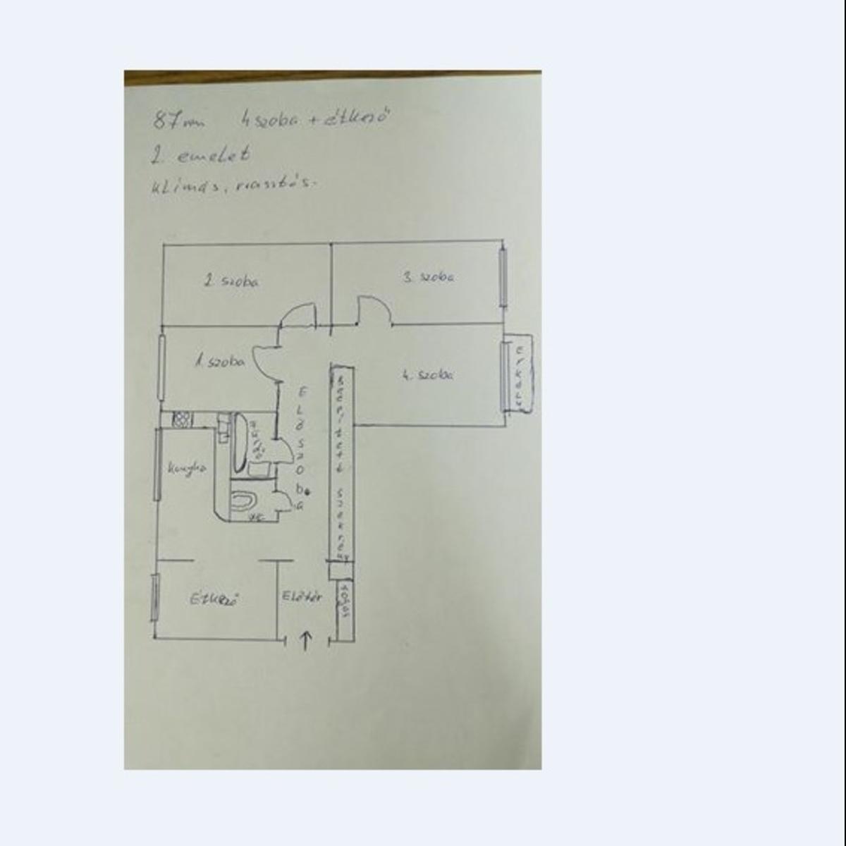 Eladó  panellakás (Hajdú-Bihar megye, Debrecen, Domokos Lajos utca) 23,9 M  Ft