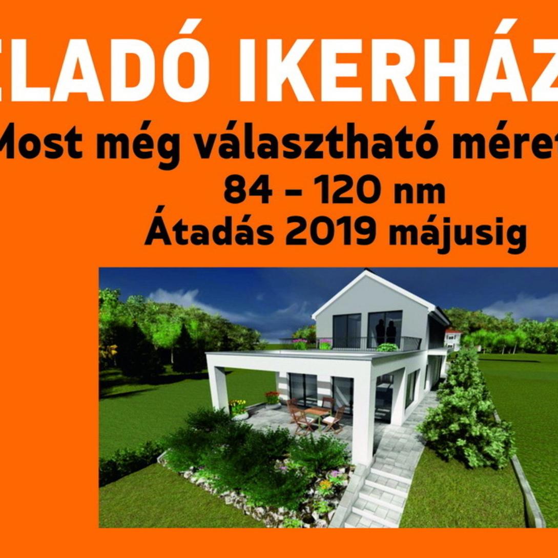 Eladó  ikerház (Pest megye, Csömör, Széchenyi utca) 29,8 M  Ft