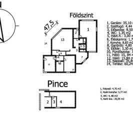 Eladó  családi ház (Budaörs, Odvashegy lakó) 119 M  Ft