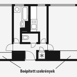 Kiadó  panellakás (Budapest, XIV. kerület) 120 E  Ft/hó