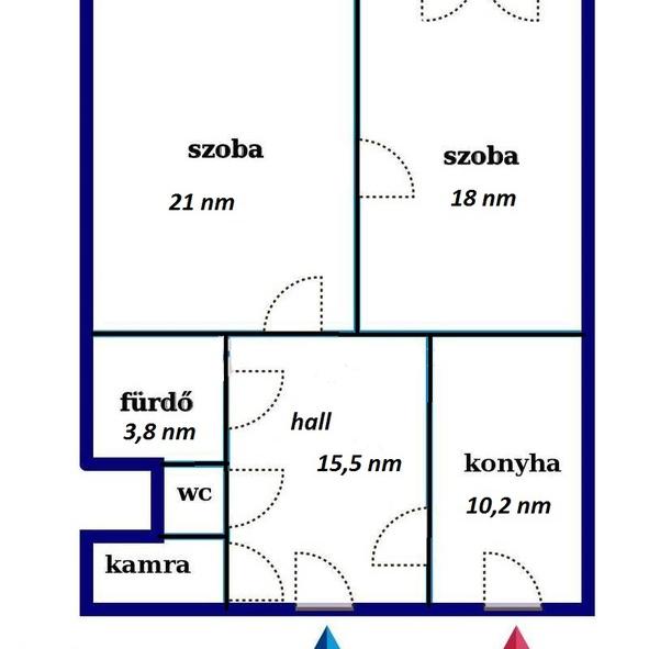 Eladó  téglalakás (Budapest, VIII. kerület, Visi Imre u.) 26,9 M  Ft
