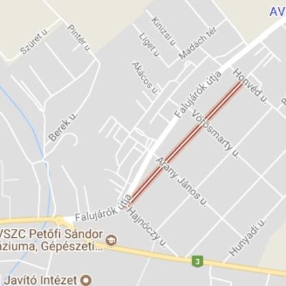 Eladó  telek (Kartal, Bocskai utca) 4,7 M  Ft