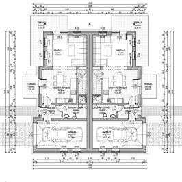 Eladó  ikerház (Sződliget) 52 M  Ft