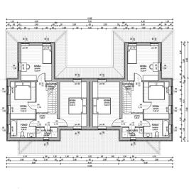 Eladó  ikerház (Sződliget) 56 M  Ft