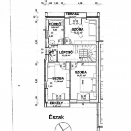 Eladó  ikerház (Vác, Törökhegy) 46,9 M  Ft
