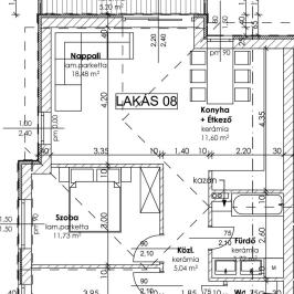 Eladó  téglalakás (Szentendre) 38,8 M  Ft