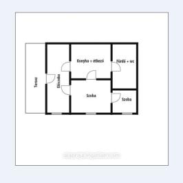 Eladó  családi ház (Nyíregyháza, Kőlapos) 12,9 M  Ft