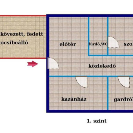 Eladó  ikerház (Budaörs, Törökugrató) 85 M  Ft
