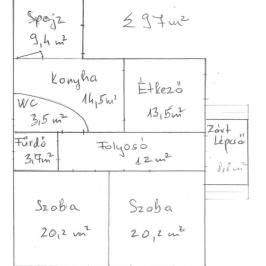 Eladó  családi ház (Kállósemjén) 4,2 M  Ft