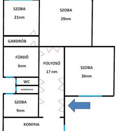Eladó  téglalakás (Budapest, II. kerület) 68,1 M  Ft