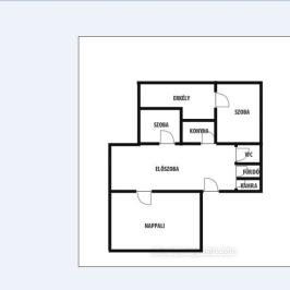 Eladó  panellakás (Nyíregyháza, Belváros) 17,5 M  Ft
