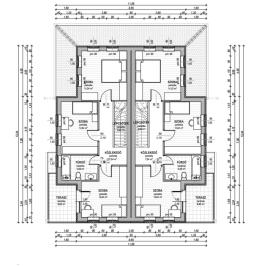 Eladó  ikerház (Sződliget) 55 M  Ft