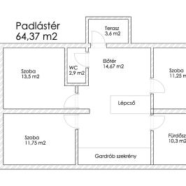 Eladó  családi ház (Orosháza, Szőlő) 42,5 M  Ft