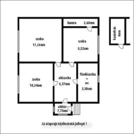 Eladó  családi ház (<span class='notranslate'>Szolnok</span>, <span class='notranslate'>Északnyugati városrész</span>) 11.6 M   <span class='notranslate'>Ft</span>
