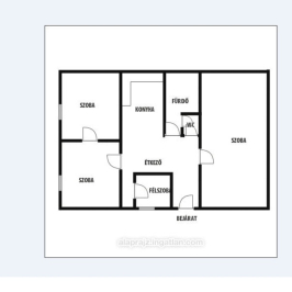 Eladó  családi ház (Nyíregyháza, Malomkert) 25,5 M  Ft