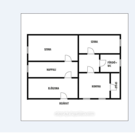 Eladó  családi ház (Nyíregyháza, Borbánya) 10,5 M  Ft