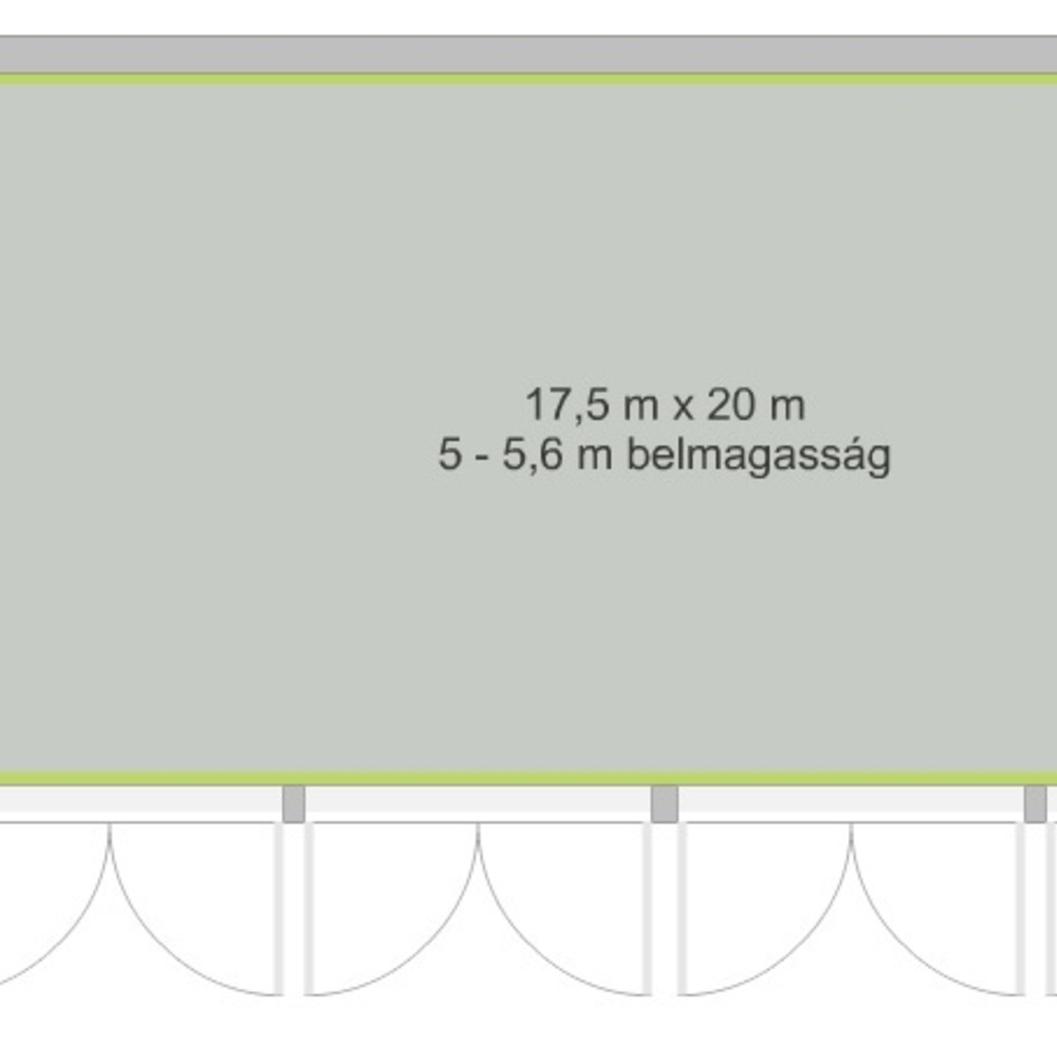 Eladó  csarnok (Tolna megye, Dunaföldvár) 16 M  Ft