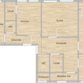 Eladó  panellakás (Paks, Lakótelep) 32 M  Ft