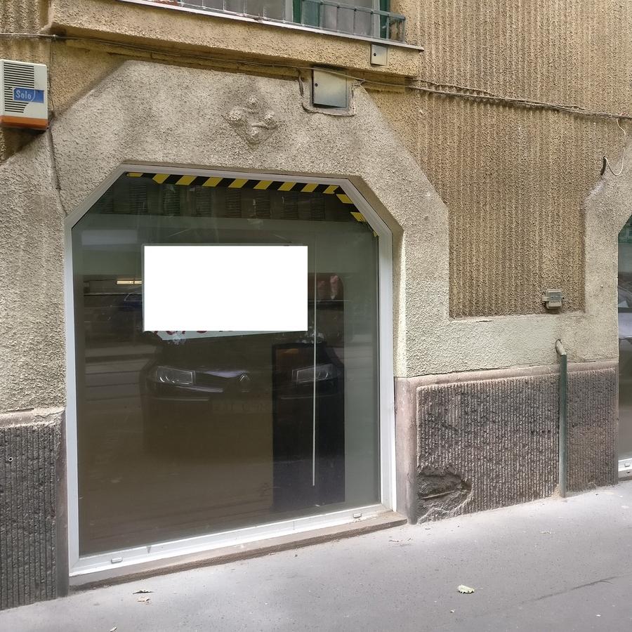Kiadó  üzlethelyiség utcai bejáratos (Budapest, IX. kerületBudapest, IX. kerület, Mester u.) 170 E  Ft/hó
