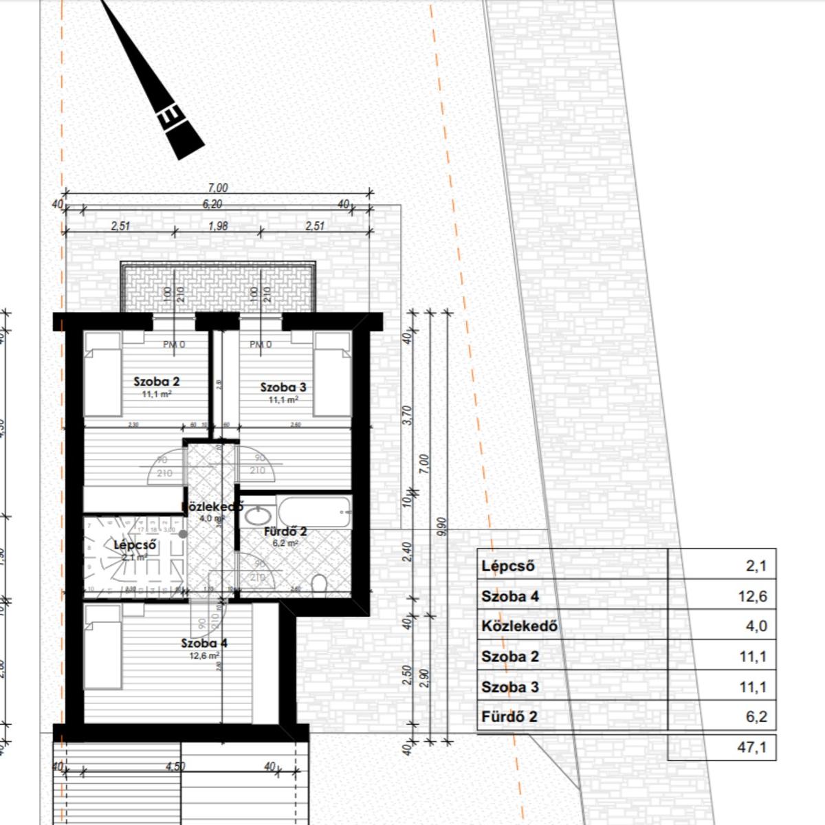Eladó  ikerház (Csömör) 45,6 M  Ft