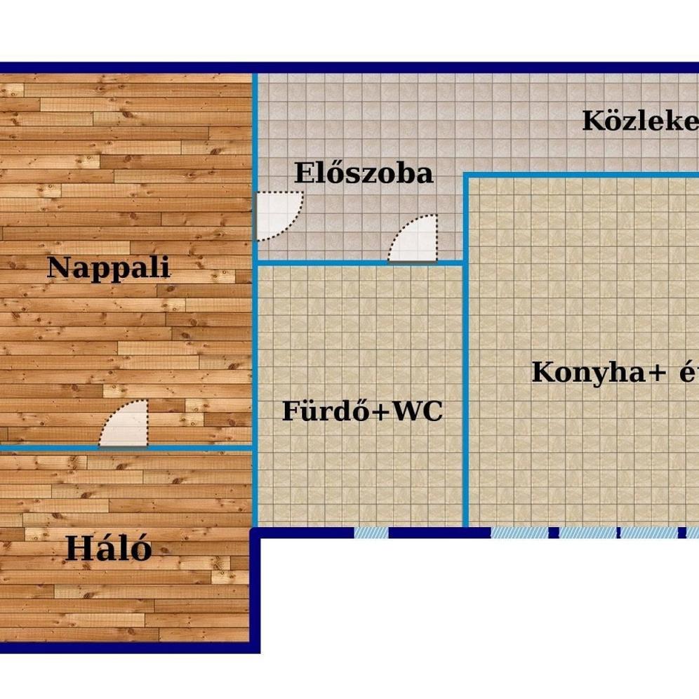 Eladó  téglalakás (Budapest, XIV. kerületBudapest, XIV. kerület, Dózsa György út) 29,9 M  Ft