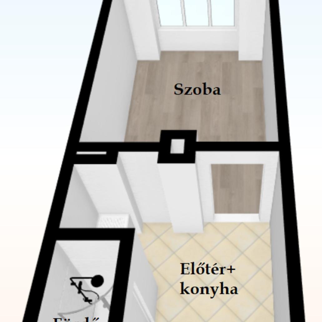 Eladó  téglalakás (Budapest, X. kerületBudapest, X. kerület, Szállás u.) 13,9 M  Ft