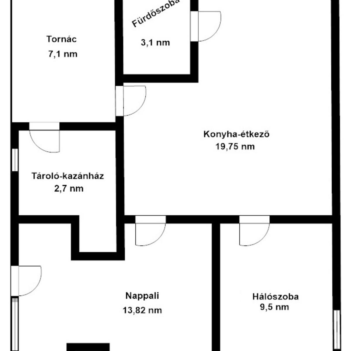 Eladó  házrész (Pest megye, Dunabogdány) 14,95 M  Ft