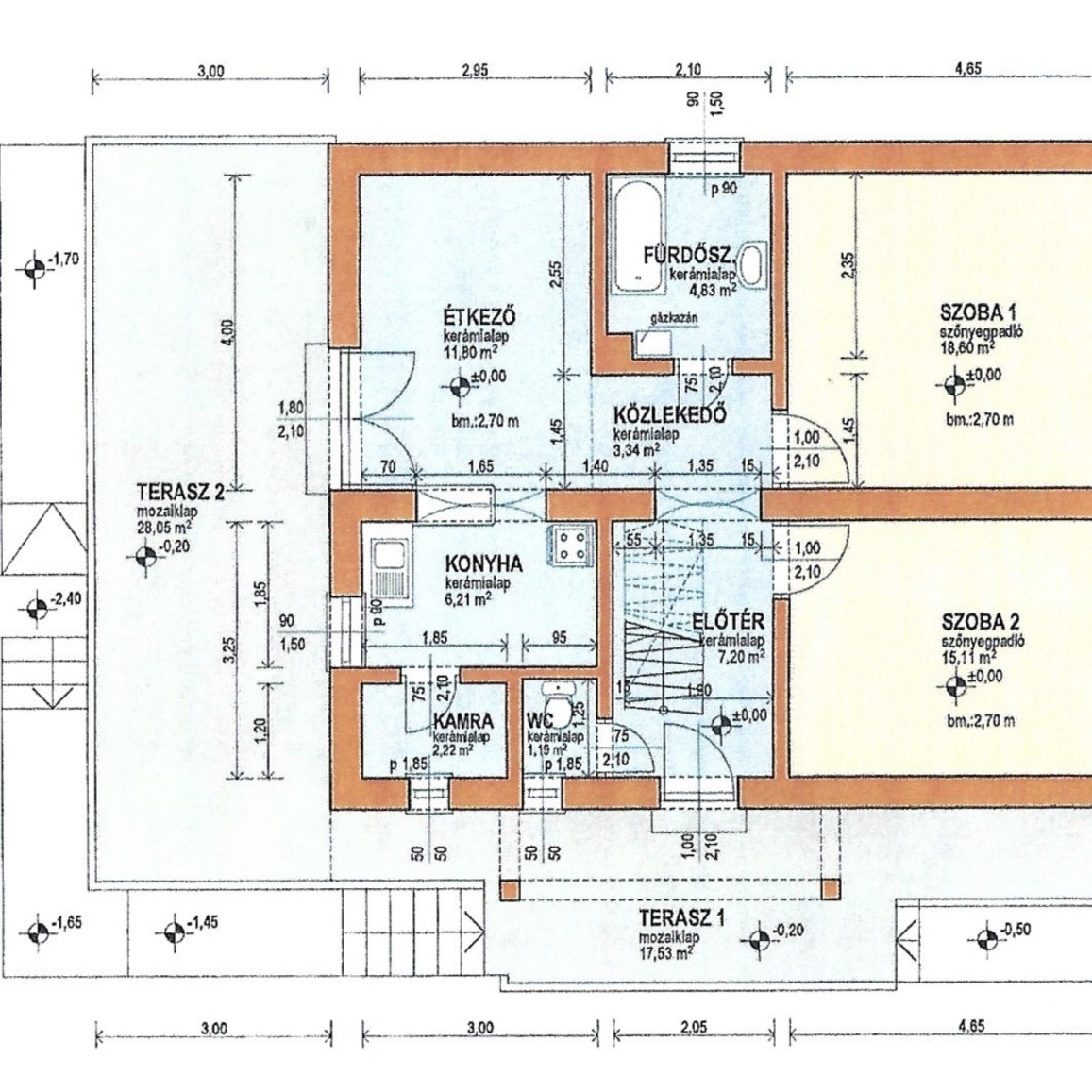 Eladó  családi ház (Budakeszi) 57,9 M  Ft
