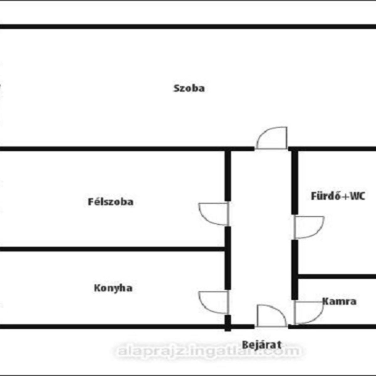 Eladó  téglalakás (Nyíregyháza) 11,9 M  Ft
