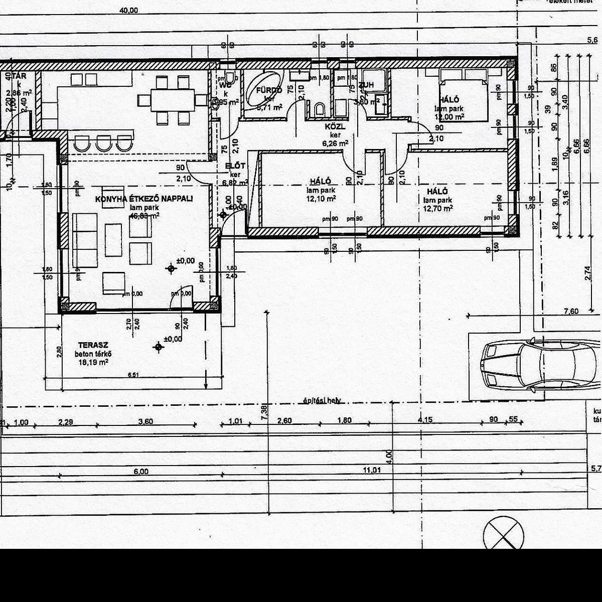 Eladó  családi ház (Törökbálint) 69,5 M  Ft