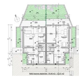 Eladó  ikerház (Budakalász, Városközpont) 63 M  Ft
