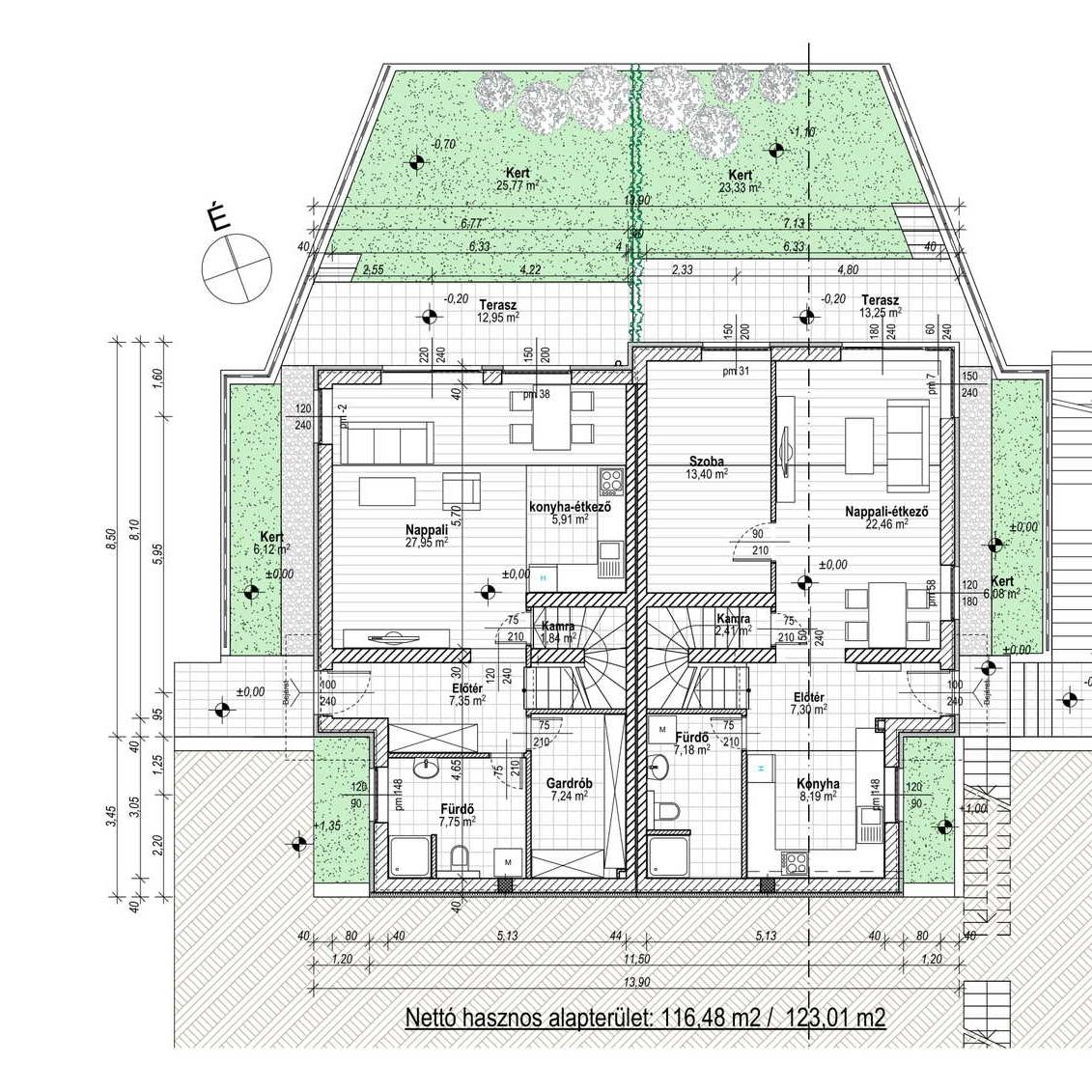 Eladó  ikerház (Pest megye, Budakalász) 67 M  Ft