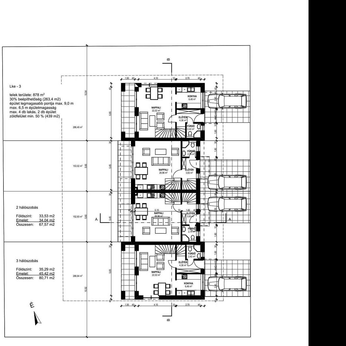 Eladó  sorház (Pest megye, Gyömrő) 28,5 M  Ft