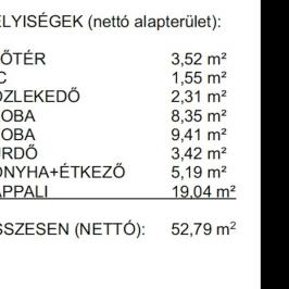Eladó  téglalakás (Budapest, IV. kerület) 35,2 M  Ft