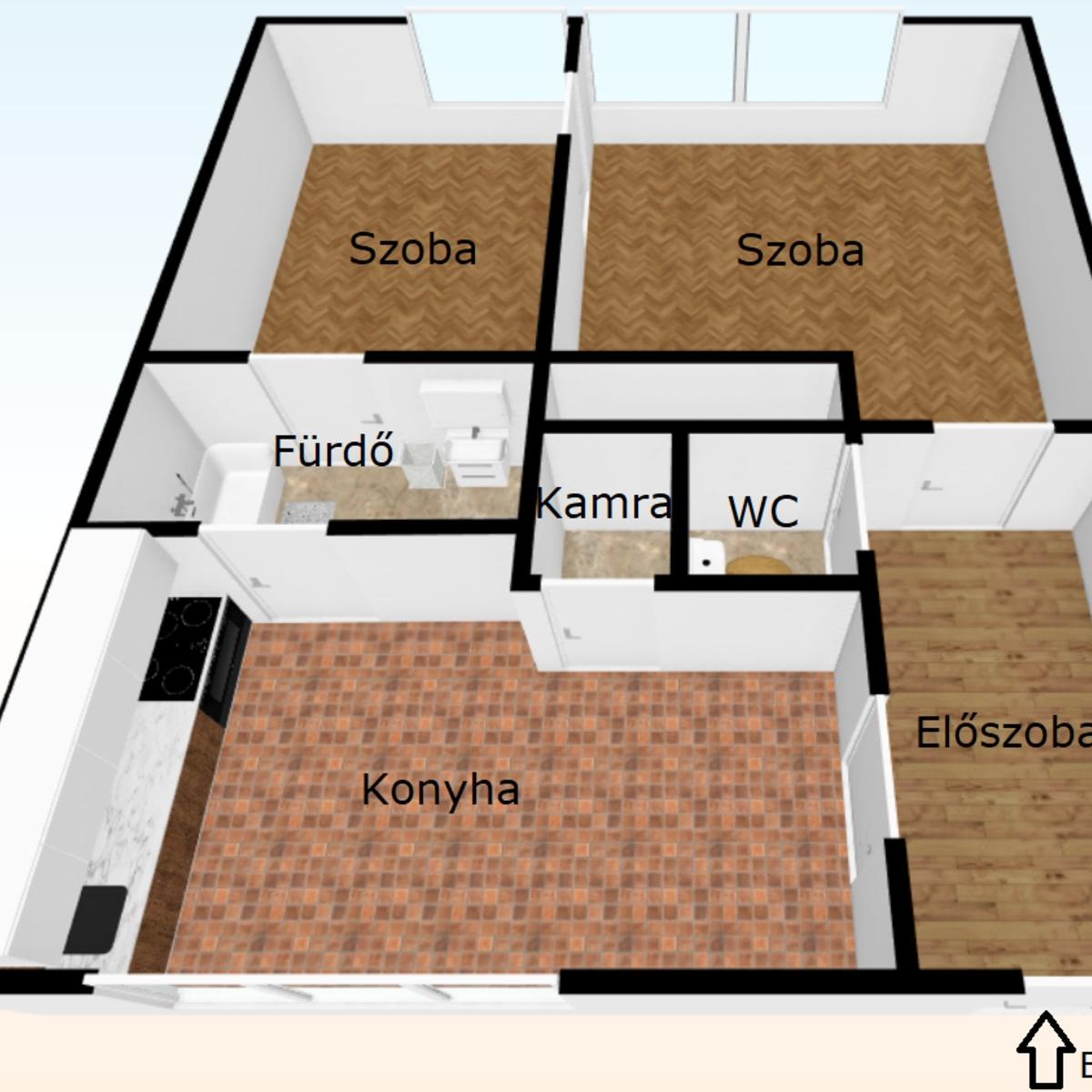Eladó  panellakás (Budapest, XIII. kerület) 24,9 M  Ft