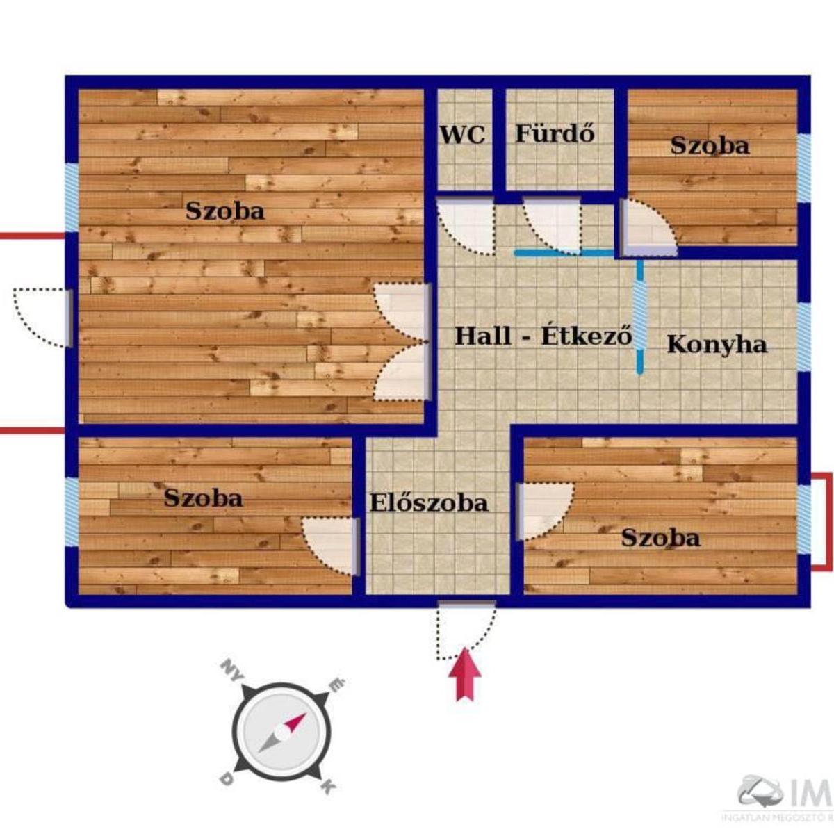 Eladó  panellakás (Budapest, XV. kerület) 43,5 M  Ft