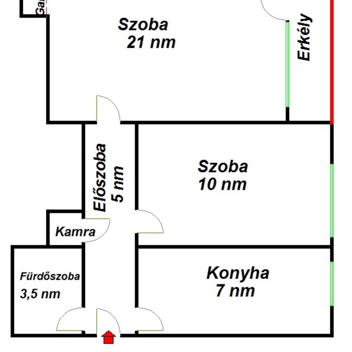 Eladó  téglalakás (Budapest, XVIII. kerületBudapest, XVIII. kerület, Hosszúház u.) 19,9 M  Ft