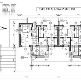 Eladó  ikerház (Nyíregyháza) 45 M  Ft