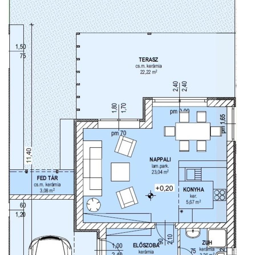 Eladó  sorház (Pest megye, Nagytarcsa) 41,1 M  Ft