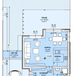 Eladó  sorház (Nagytarcsa, Öregszőlő lakópark) 41,1 M  Ft